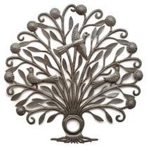 Tree of Life, Haitian Metal Art, Lid, Limited Edition