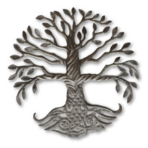 Tree of Life, Roots, Summer, Fall, Winter, Spring, Metal, Steel, Recycle, Sustainable, One-of-a-Kind, Limited Edition, Haiti, Help Fight Poverty, Art, Sculpture