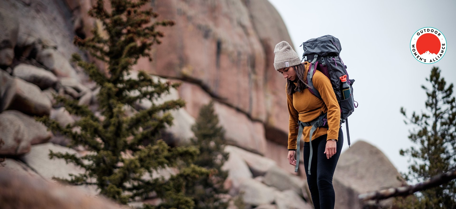 15% of Sales Support Outdoor Women's Alliance in May