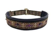 "1/2"" Plum Baroque Swarovski Collar"