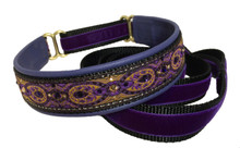 "1"" Renaissance Purple Swarovski Collar"