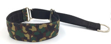 "1.5"" Camo Private Prong Collar"