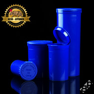Blue Pop Top Containers