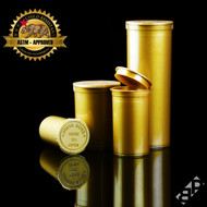 Gold Pop Top Containers