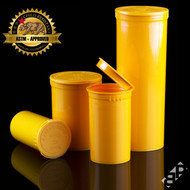 Orange Pop Top Containers