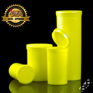 Yellow Pop Top Containers