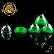 DoM Concentrate Container - Clear/Green