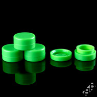 5ML Green Silicone Concentrate Containers