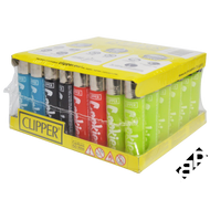 Clipper Lighters Mixed -48/PCS