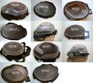 Custom Made Men's Toupee