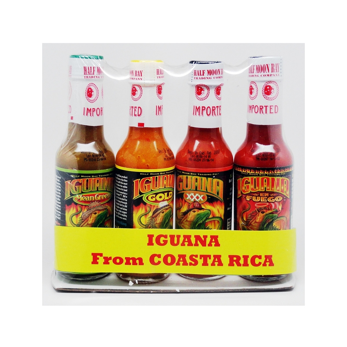 Iguana Costa Rica Hot Sauce Gift Pack - Pepper Explosion