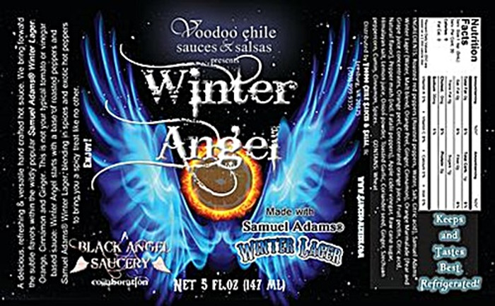 Winter Angel Hot Sauce - Pepper Explosion Hot Sauce Store