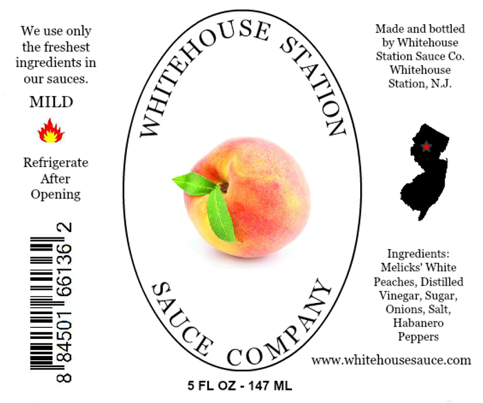 Whitehouse Station Peach Habanero Sauce - PepperExplosion.com