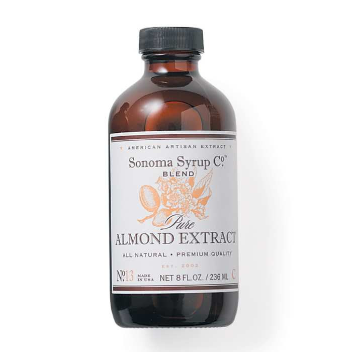 Sonoma Syrup Pure Almond Extract - Available at Pepper Explosion