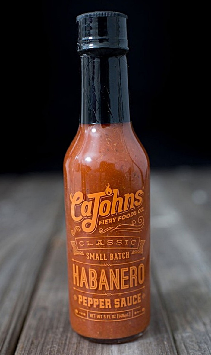 Cajohns Classic Small Batch Habanero Hot Sauce available at Pepper Explosion's online Hot Sauce Store