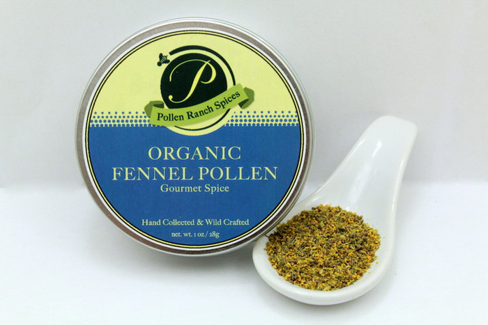 Organic Fennel Pollen (1 oz) by Pollen Ranch and available online at Pepper Explosion