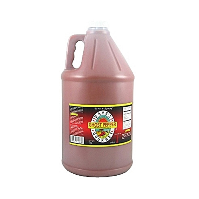 Dave's Ghost Pepper Hot Sauce - Gallon Size