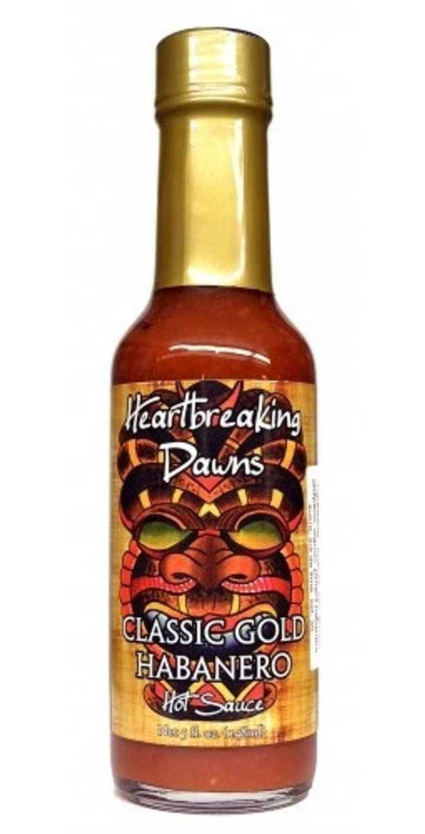 Heartbreaking Dawn's Classic Gold Hot Sauce
