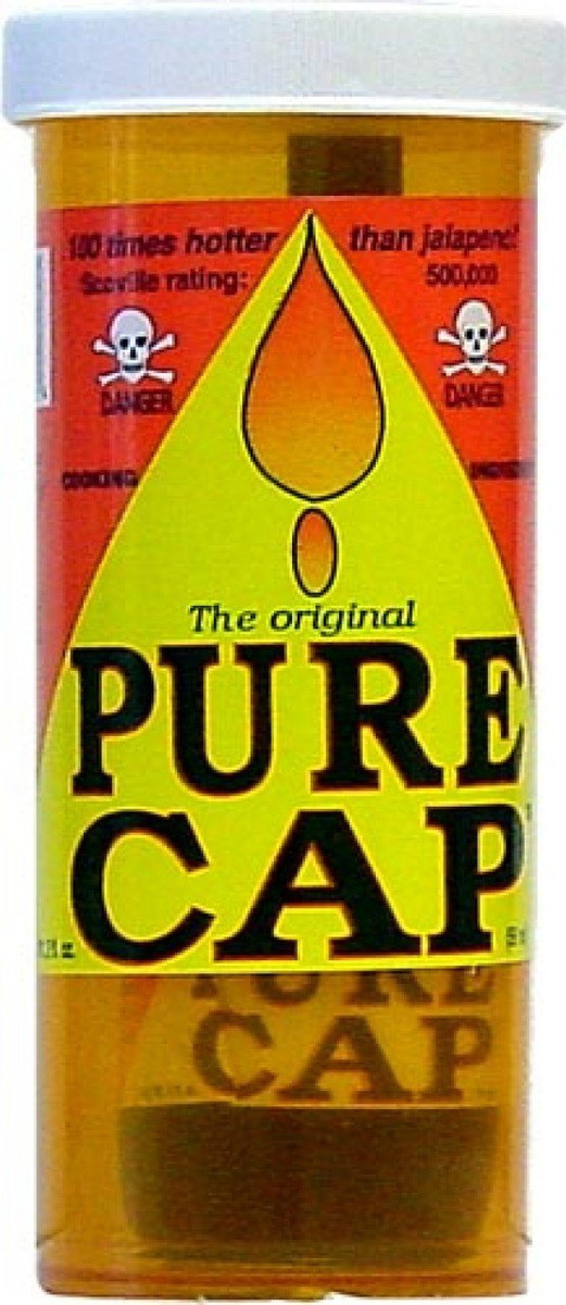 Pure Cap 100 Times Hotter Than Jalape??o