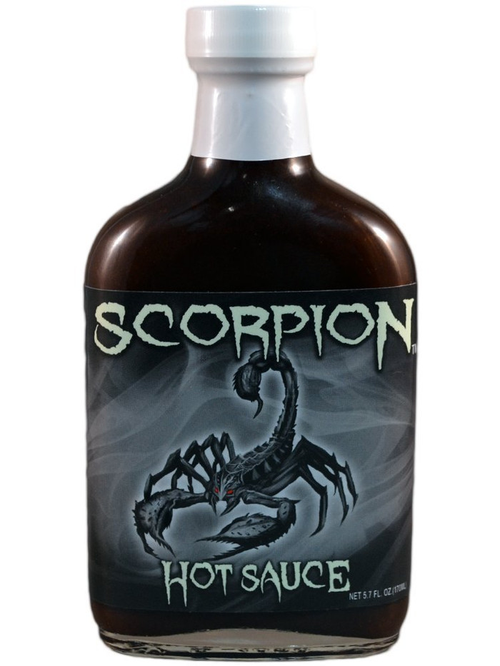 Scorpion Hot Sauce - available now at Pepper Explosion Hot Sauce Superstore