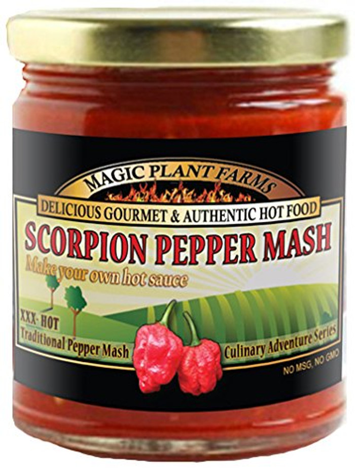 Scorpion Pepper Mash - Make Hot Sauce - buy at Pepper Explosion