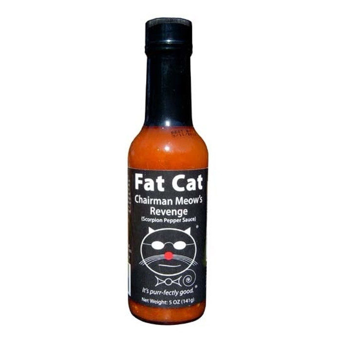 Chairman Meow's Revenge Scorpion Pepper Hot Sauce - Pepper Explosion