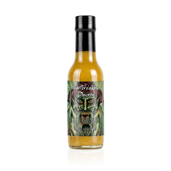 Heartbreaking Dawn's The Green Verde Hot Sauce - PepperExposion.com