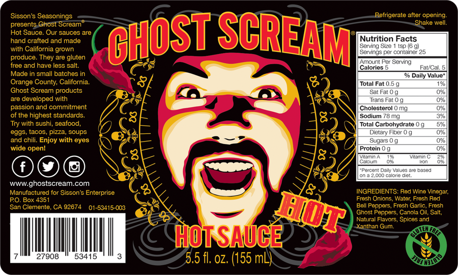 Ghost Scream Hot Sauce