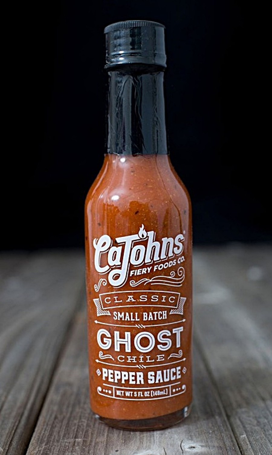 Classic Small Batch Ghost Hot Sauce - available online at Pepper Explosion Hot Sauce Store
