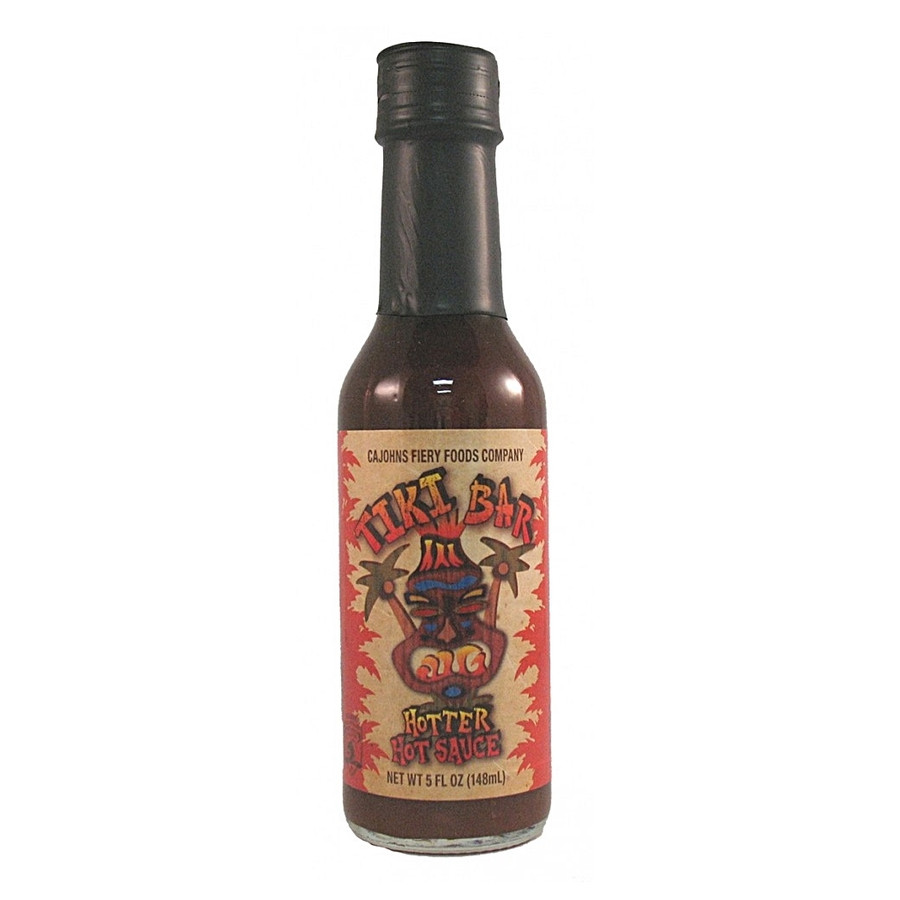 Tiki Bar Hotter Hot Sauce available online at PepperExplosion.com
