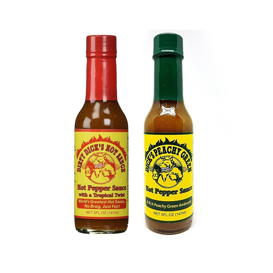 Dirty Dick's Hot Sauce Combo available at Pepper Explosion Hot Sauce Superstore