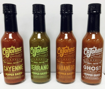 Classic Small Batch Pepper Sauce Sampler