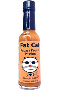 Fat Cat Papaya Pequin Passion Hot Sauce