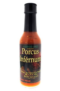 Porcus Infernum - Spicy Bacon Flavored Hot Sauce