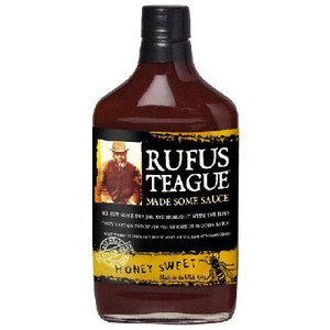 Rufus Teague Honey Sweet BBQ Sauce 16oz Flask