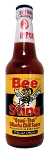 "BeeSting ""Quasi-Thai"" SíRacha Chili Sauce available at Pepper Explosion"