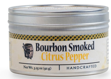 Bourbon Smoked Citrus Pepper available at Pepper Explosion
