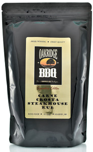 Oakridge BBQ Carne Crosta Steakhouse Rub now available at PepperExplosion.com