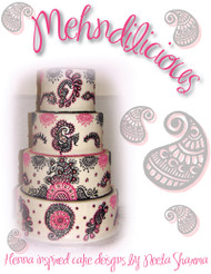 Mehndilicious - Henna Inspired Cake Designs by Neeta Sharma