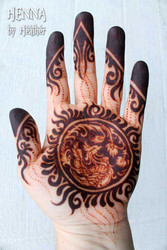 Mohana Henna 2016 - fully developed stain