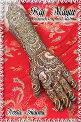 Raj Mayur - Peacock Inspired Mehndi