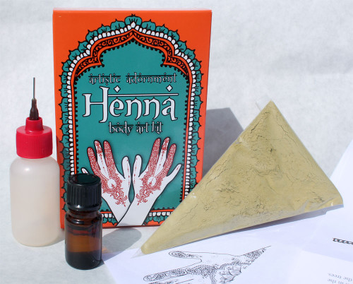 Artistic Adornment's Signature Henna Kit