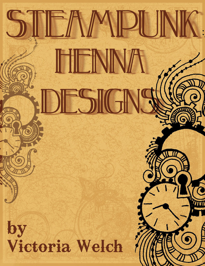 steampunk henna designs artistic adornment. Black Bedroom Furniture Sets. Home Design Ideas