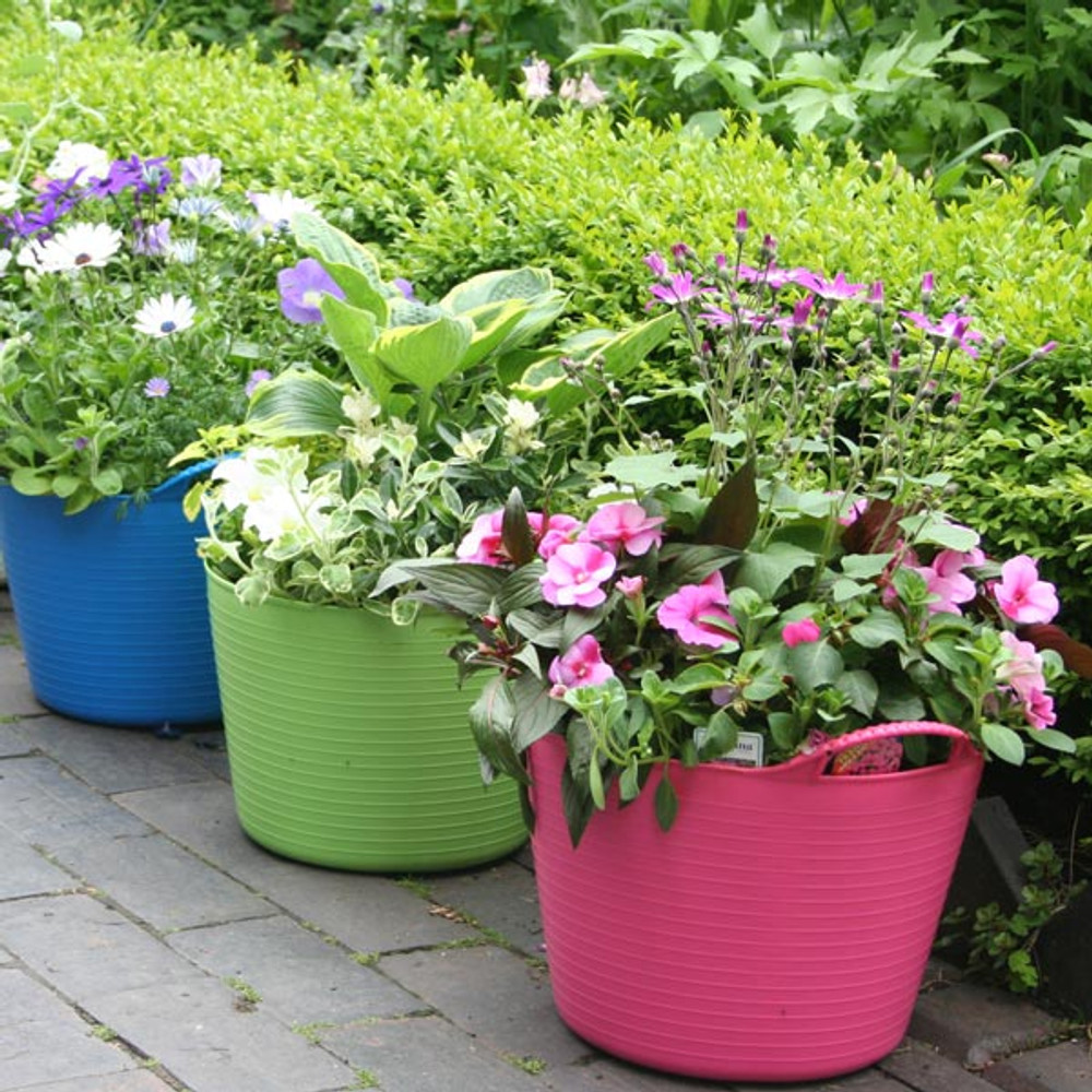 You can plant straight into Large Tubtrugs. Just drill some drainage holes at the bottom.