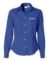 RiverTown Multimedia Van Heusen Ladies Silky Poplin Shirt
