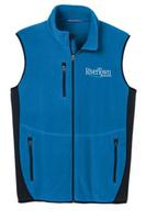 RiverTown Multimedia  Full Zip Fleece Vest