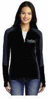 RiverTown Multimedia Ladies Microfleece Jacket