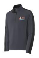 City of Hastings Sport Wick Textured Colorblock 1/4 Zip Pullover