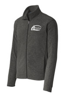 City of Hastings Heather Microfleece Full-Zip Jacket