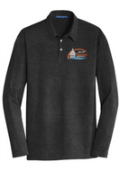 City of Hastings Long Sleeve Meridian Cotton Blend Polo